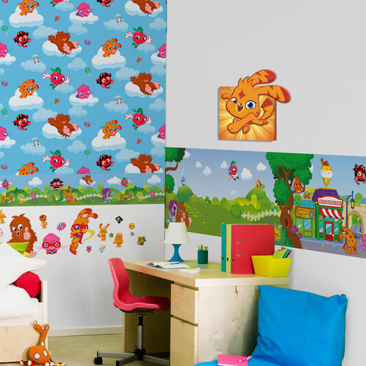 Moshi Monsters 3D Canvas, , large