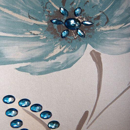 Sapphire Self Adhesive Mixed Decorative Jewels, , large