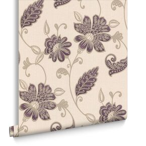 Juliet Plum Wallpaper, , large
