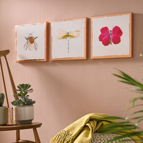Beautiful Bugs Printed Canvas, , large