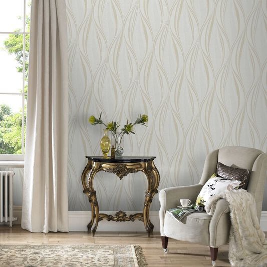 Tango Ivory Wallpaper Graham Amp Brown