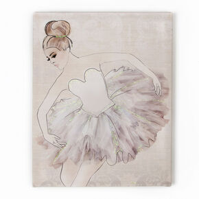 Classic Ballerina Printed Canvas, , large