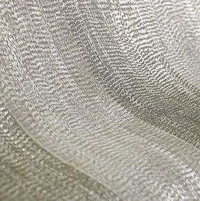 Water Silk Stripe Ivory & Taupe Wallpaper, , large