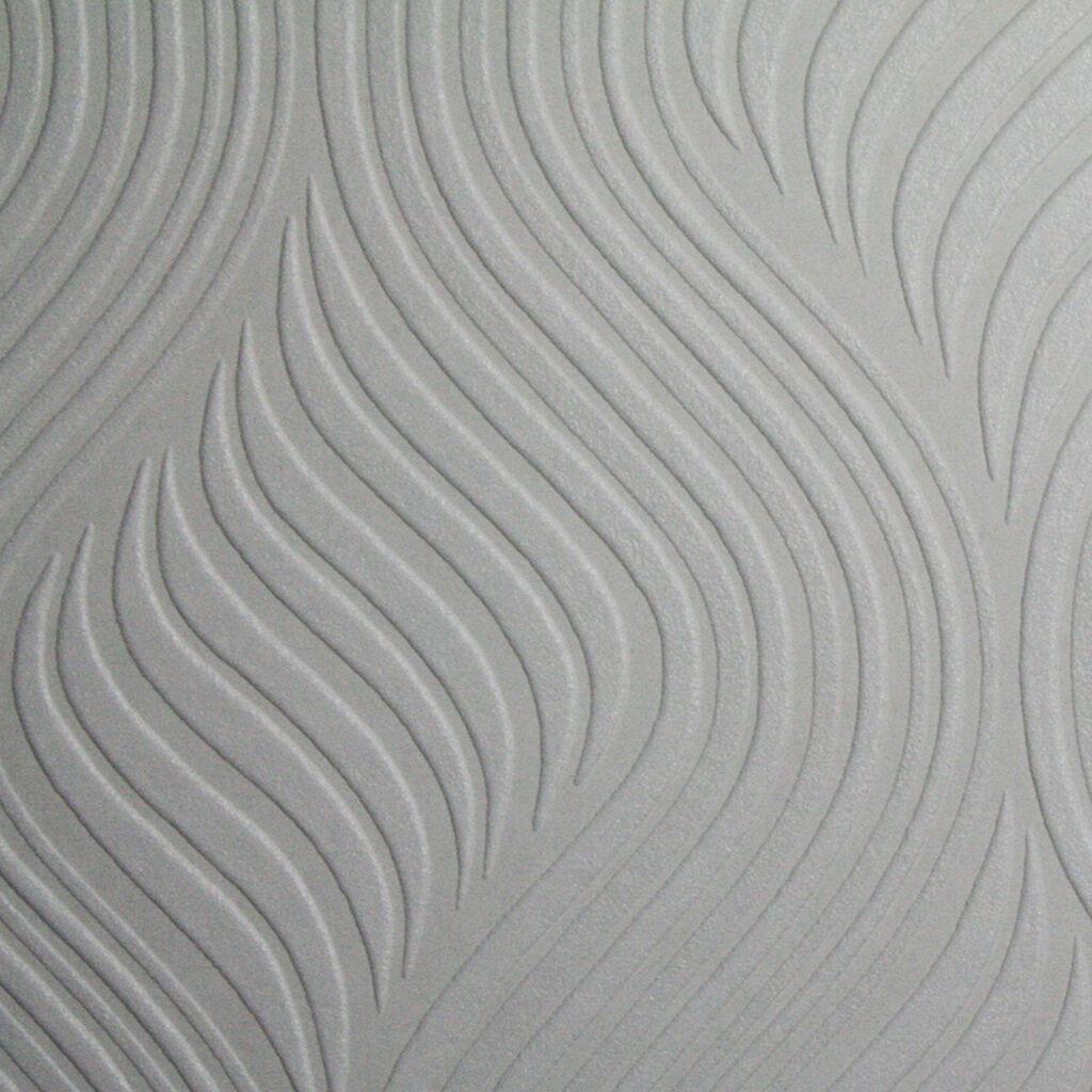 Pure wallpaper geometric white wallpaper vinyl for Decoller papier peint vinyl