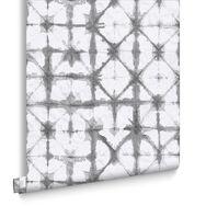 Indigo Grey Wallpaper, , large