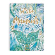 Lets Be Mermaids Printed Canvas, , large