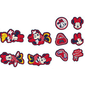 Décor en mousse Minnie Mouse – 10 pièces, , large