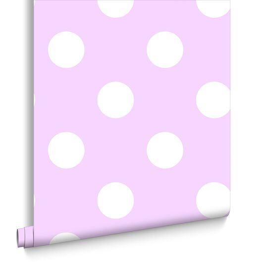 Dotty Pink Wallpaper, , large