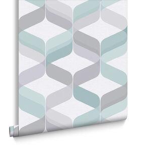 Retro Aqua Wallpaper, , large