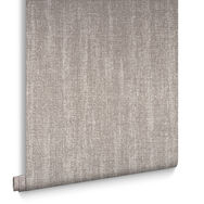 Chenille Bronze Behang, , large