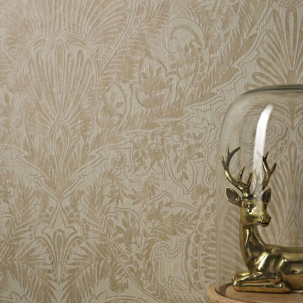 Burlesque cream and gold wallpaper graham brown for Wallpaper for walls for sale