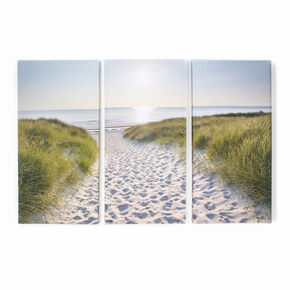 Beach Walk Printed Canvas, , large