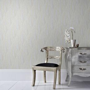 Tango Mist and Gold Wallpaper, , large