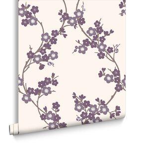 Cherry Blossom Plum Wallpaper, , large