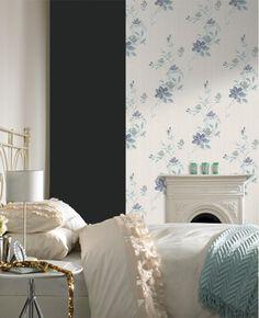 Reed Blue Wallpaper, , large
