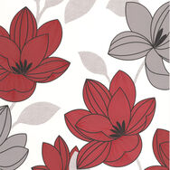 Superflora Red Wallpaper, , large