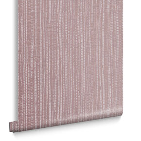 Bamboo Texture Pink Wallpaper, , large