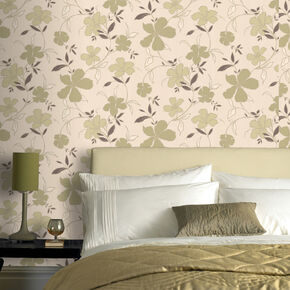 Rapture Light Green Wallpaper, , large