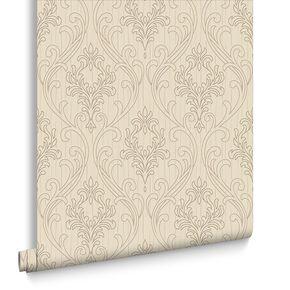 Royale Neutral Wallpaper, , large