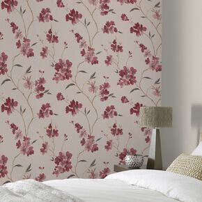 Enthrall Red Wallpaper, , large