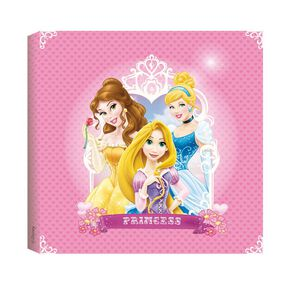 Princess Printed Canvas (30X30Cm), , large