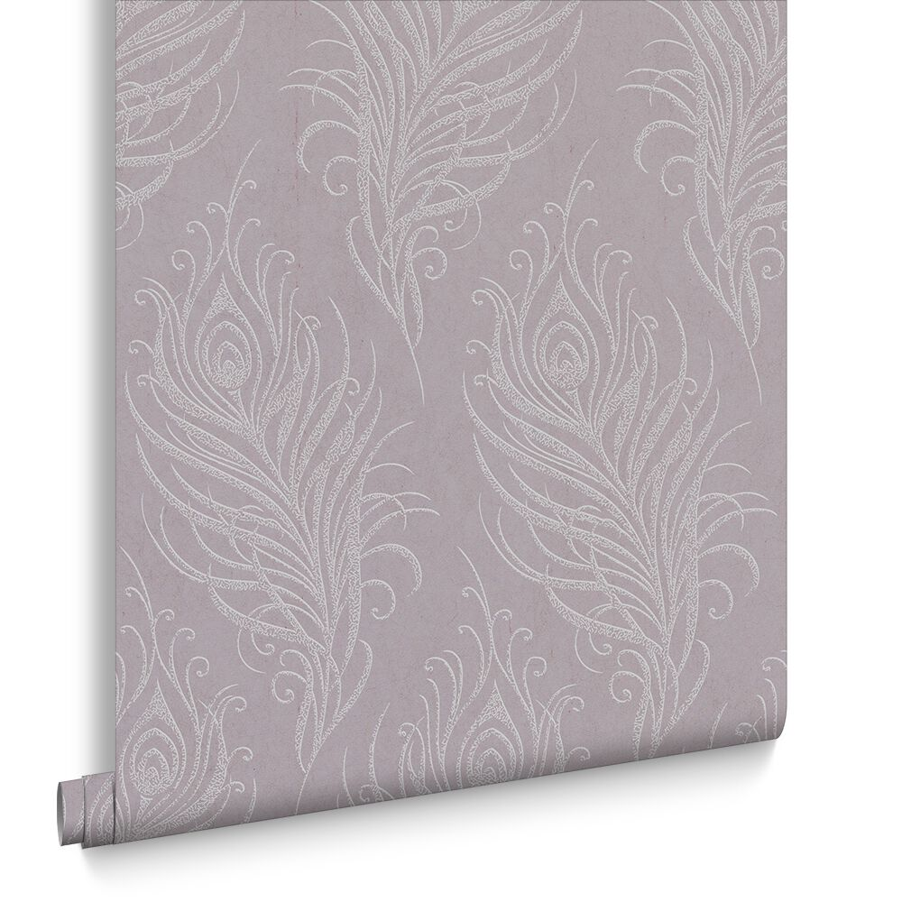 Quill Mulberry Wallpaper, , Large ...