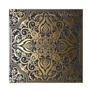 Golden Souk Tile Printed Canvas, , large