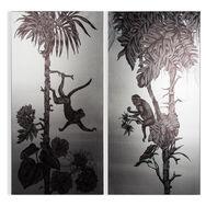 Monkey Mayhem Printed Canvas, , large