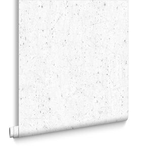 Alpine White and Glitter Wallpaper, , large