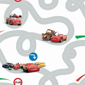 Cars Racetrack Wallpaper, , large
