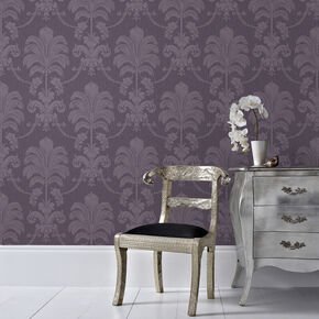 La Palma Purple Wallpaper, , large