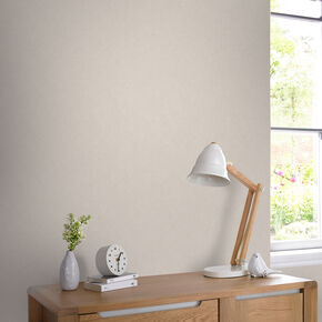 Dynasty Plain Taupe Behang, , large