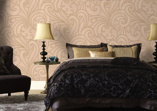 Saville Sand Wallpaper, , large