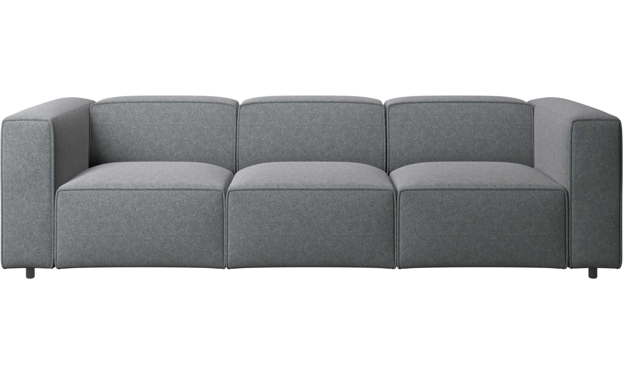 Exceptionnel 3 Seater Sofas   Carmo Sofa   Gray   Fabric ...