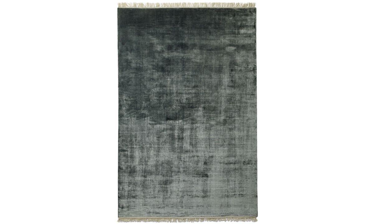 Szögletes alakú szőnyegek - Totoki szőnyeg - négyszögletes - Kék - Huzat