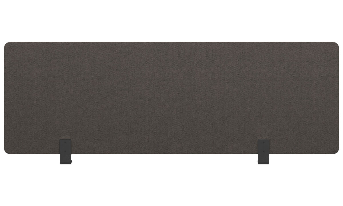 Furniture accessories - modesty panel for office desk - Grey - Plastic