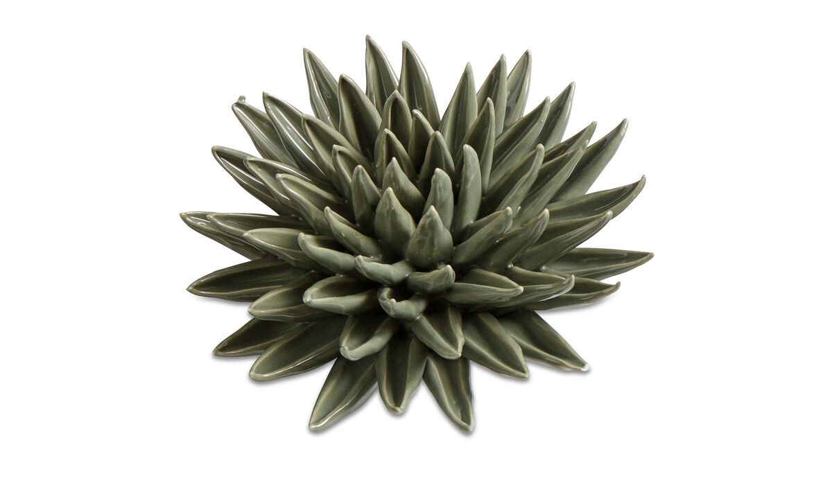 Wall decorations - Decoratiune de perete Flower - Verde - Piatra