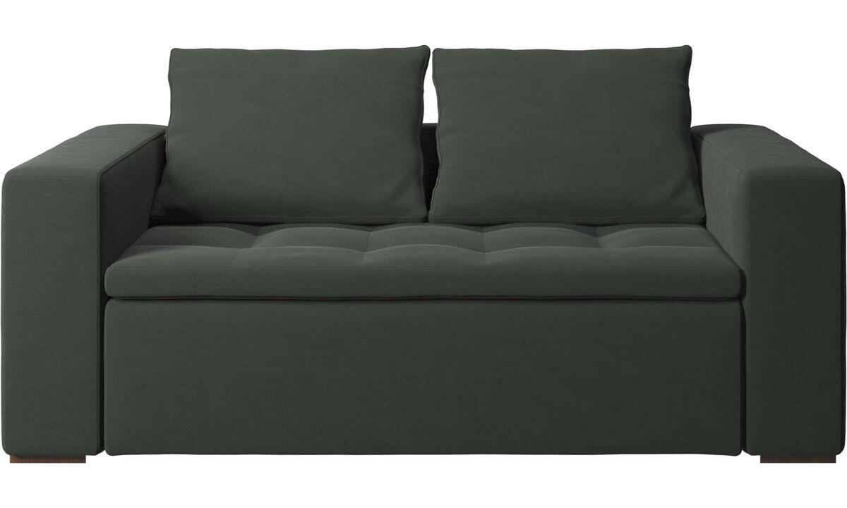 Sofás de 2 lugares - Sofá Mezzo - Verde - Tecido