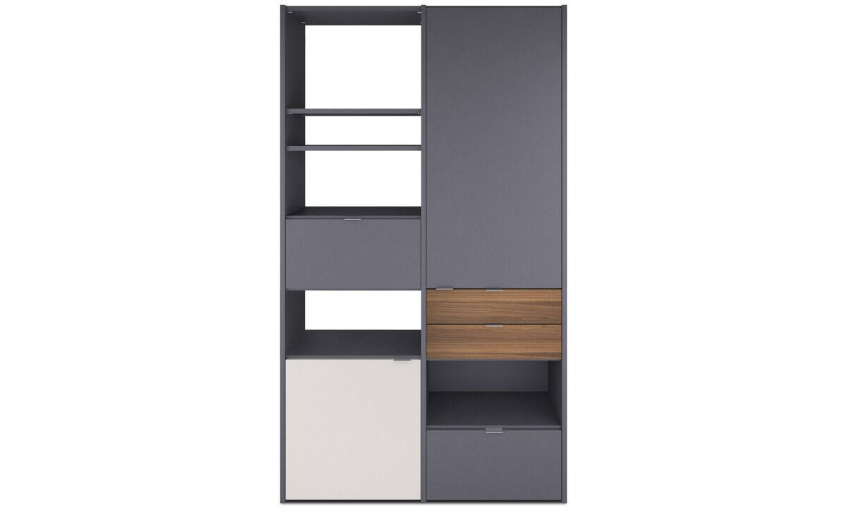 Wall systems - Copenhagen wall system - Grey - Lacquered