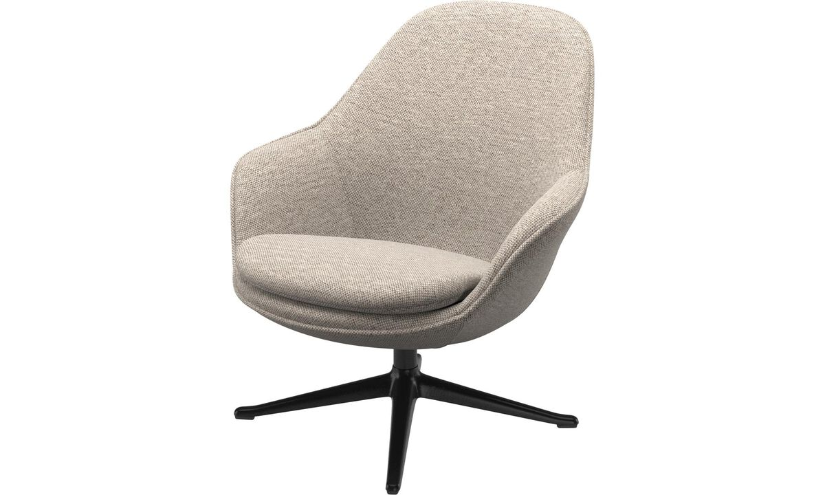 Armchairs - Adelaide living chair - Beige - Fabric