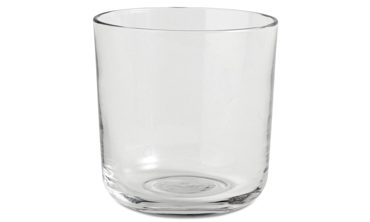 nora drinking glass - Clear - Glass