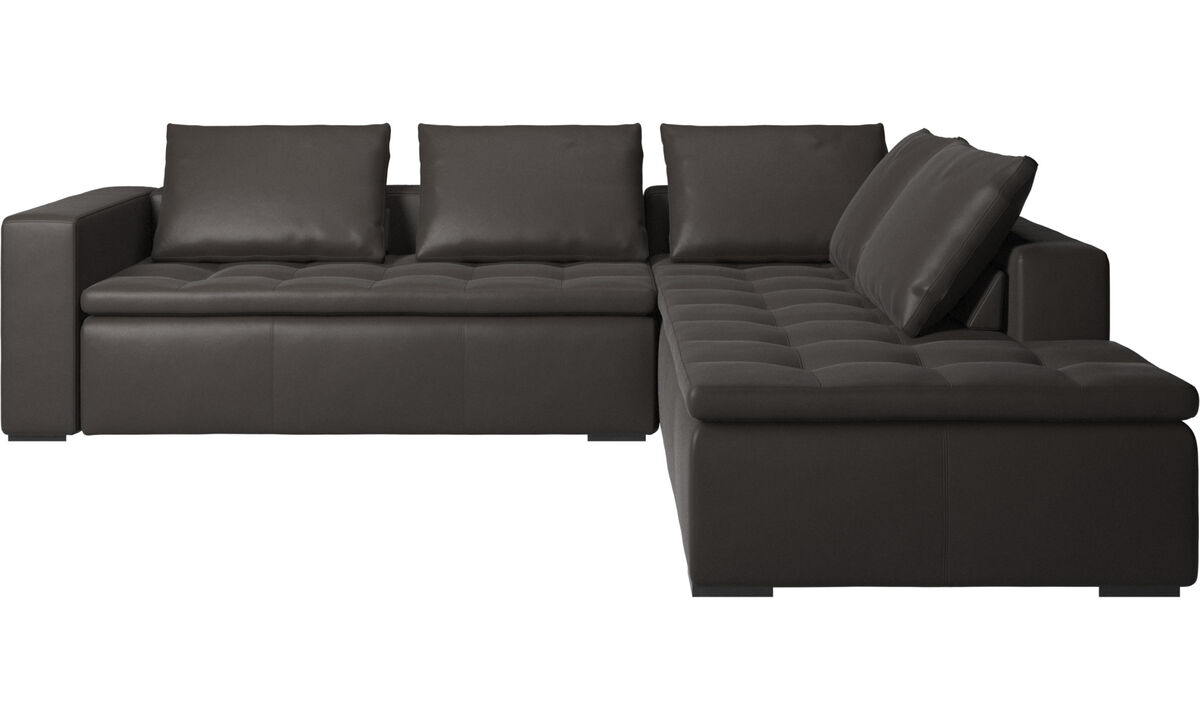 Brown Leather Sofas | Brown Leather Sofas from BoConcept