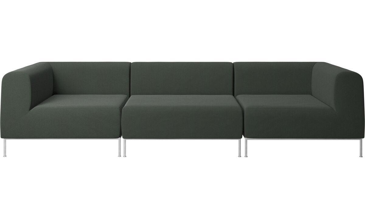 3 seater sofas - Miami sofa - Green - Fabric
