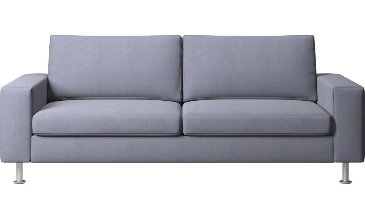 Sofás cama - sofá cama Indivi - En azul - Tela