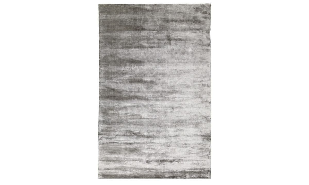 Rectangular rugs - Waza rug - rectangular - Grey - Fabric