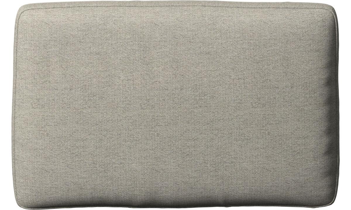 Acessórios para móveis - Almofada de encosto Amsterdam - Bege - Tecido