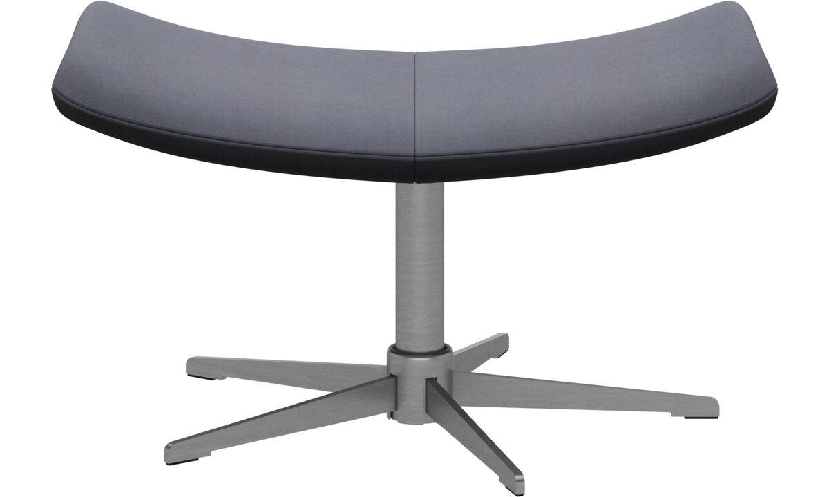 Footstools - Imola footstool - Blue - Fabric