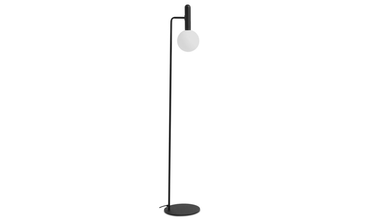 Floor lamps - Orb floor lamp - Black - Metal