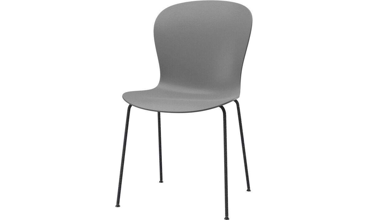 Dining chairs - poltrona Adelaide (per uso interno ed esterno) - Grigio - Metallo