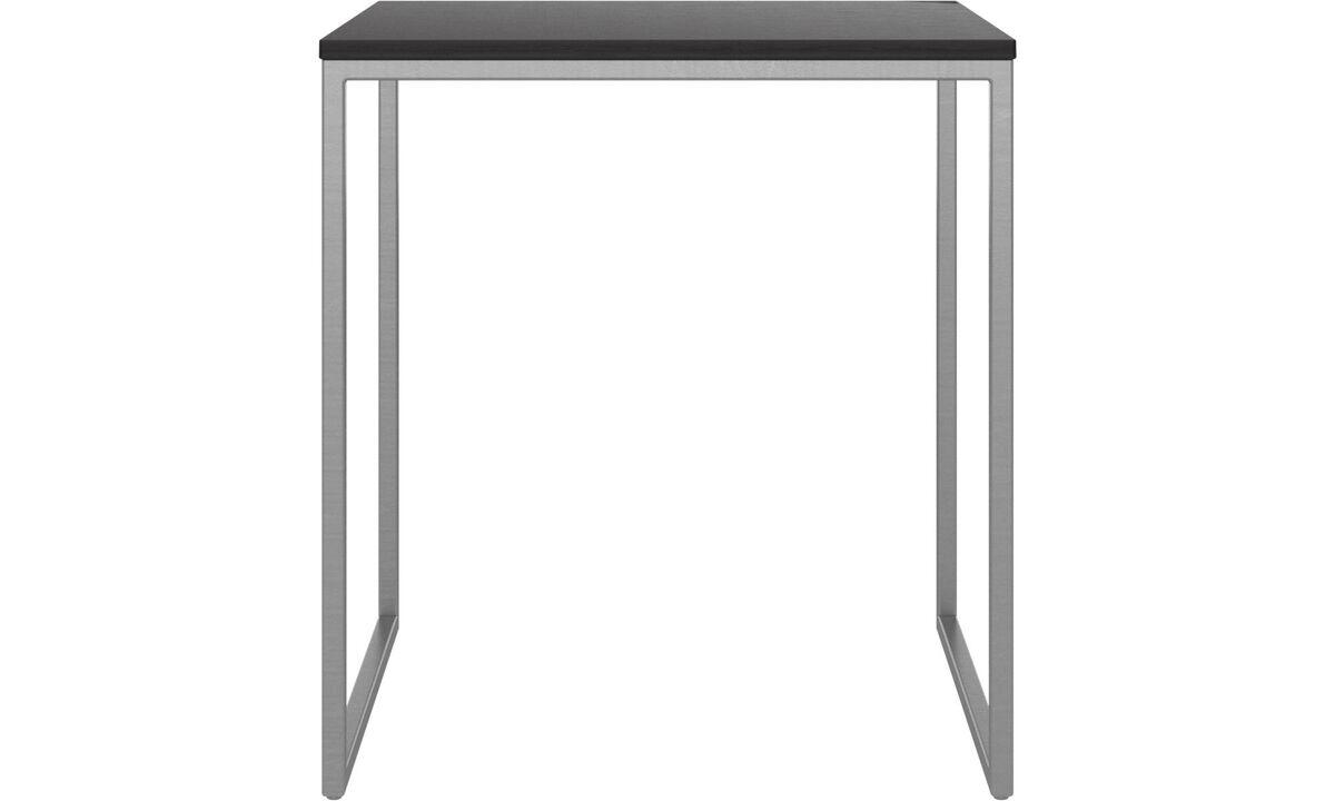 Coffee tables - Lugo coffee table - square - Black - Oak